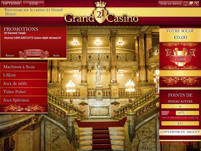 21 Grand Casino Promotions