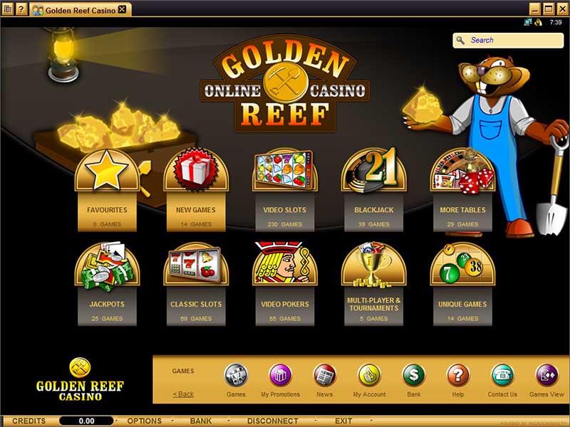 Golden Reef Casino Promotions