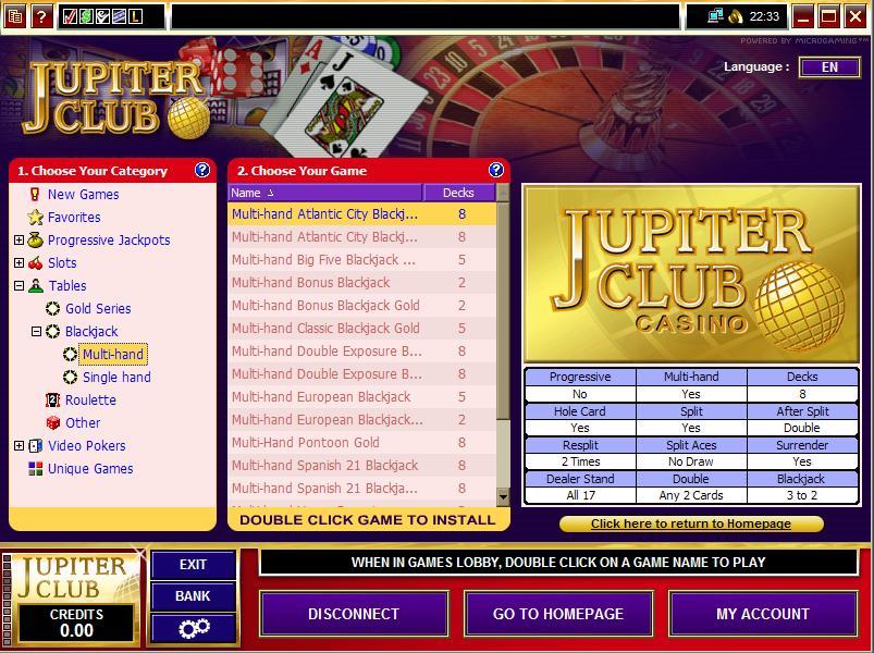 jupiter club casino bonus