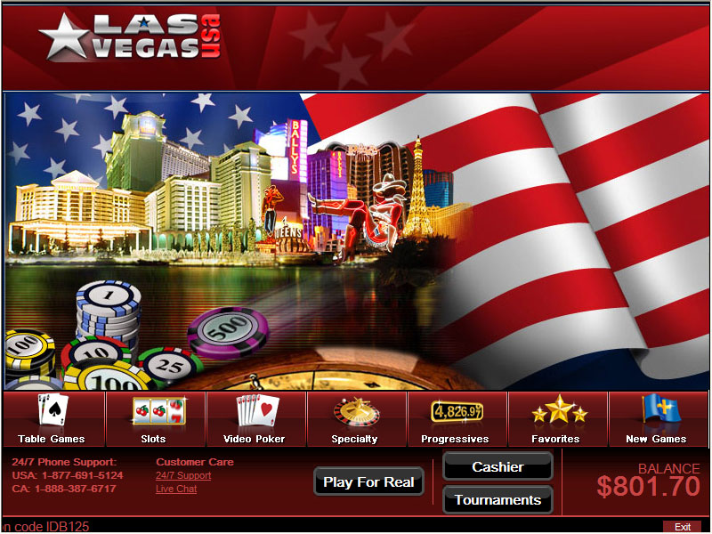 Las Vegas USA Promotions