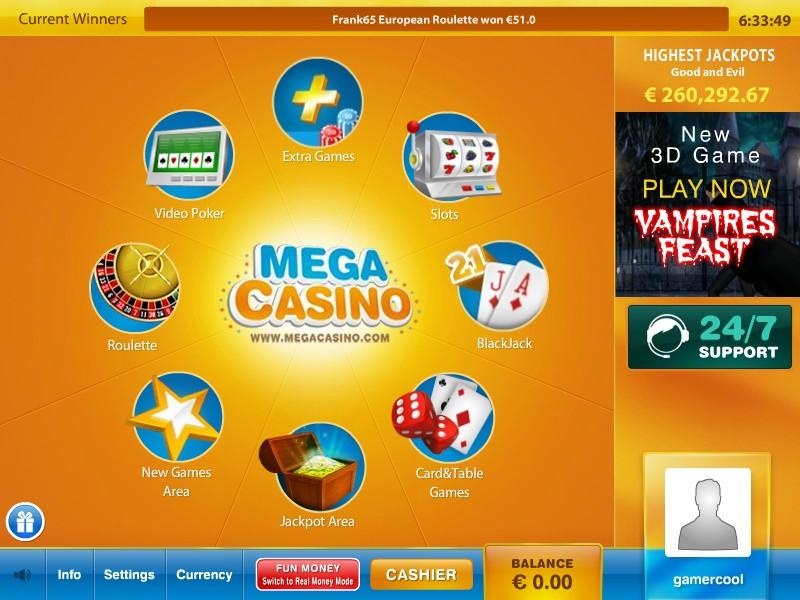 Mega Casino Promotions