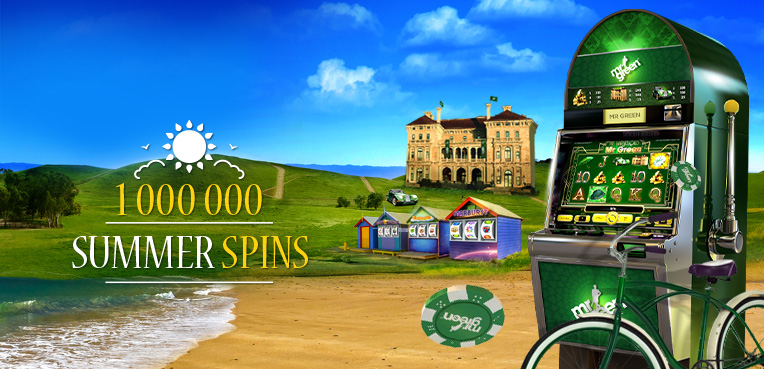 Summer free spins at Mrgreen