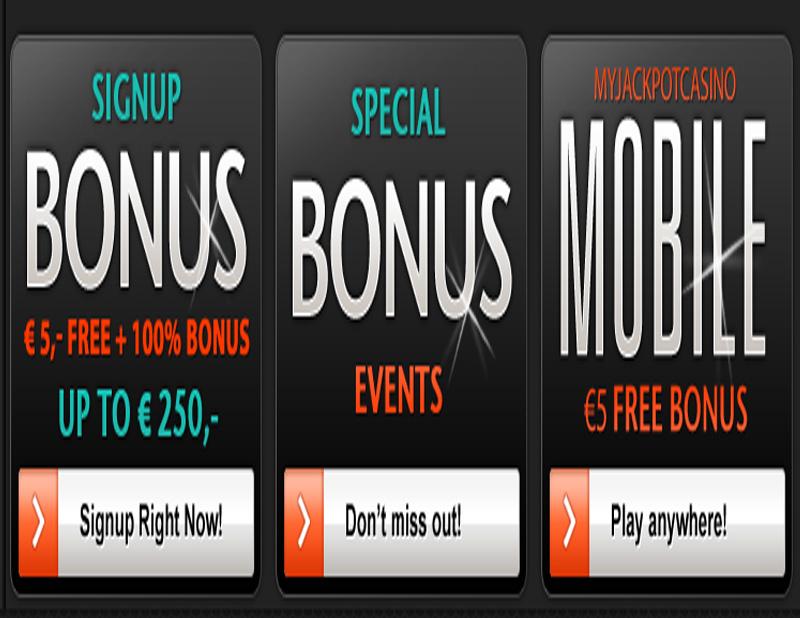 My Jackpot Casino Promotions