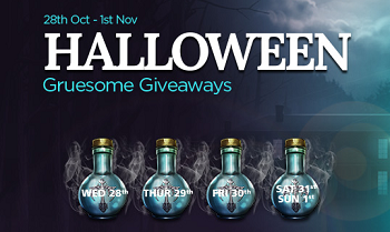 Giveaways During Halloween