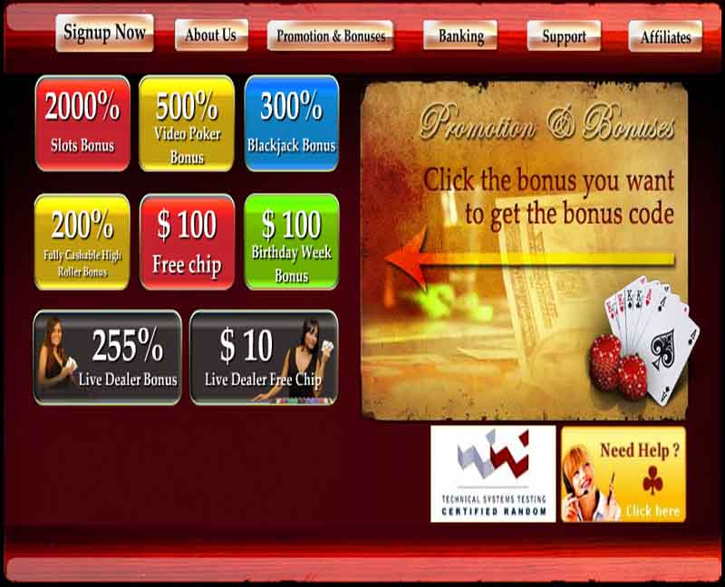 Pamper Casino Promotions