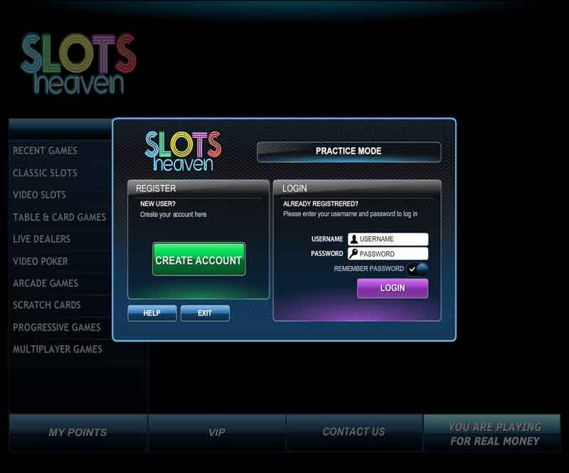 Slots Heaven Casino Promotions