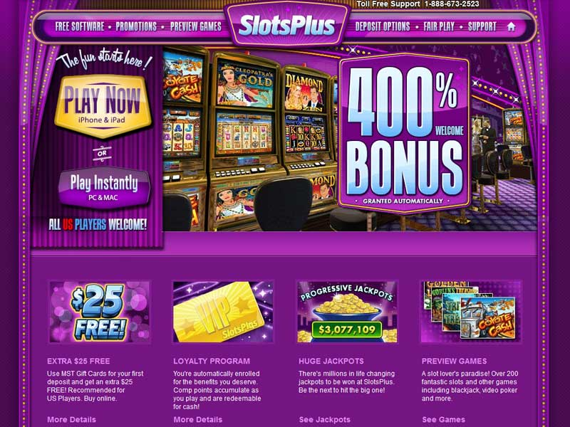 No Deposit Casino Sign Up Bonus