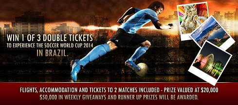 Soccer World Cup Giveaway