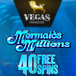 40 Free Spins No Deposit On Mermaid`s Millions
