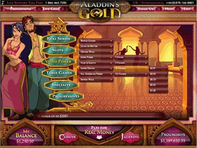 Aladdin's Gold Casino Promotions