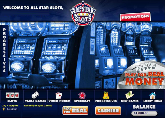 All Star Slots Casino Promotions