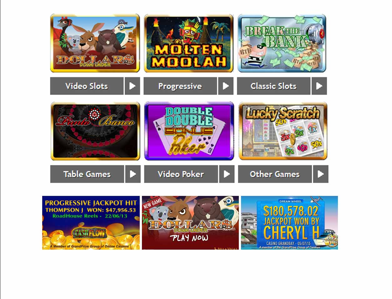 Vegas Casino Bonus