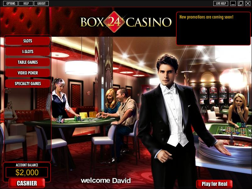 Box 24 Casino Promotions