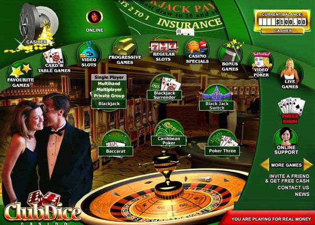 Club Dice Casino Promotions