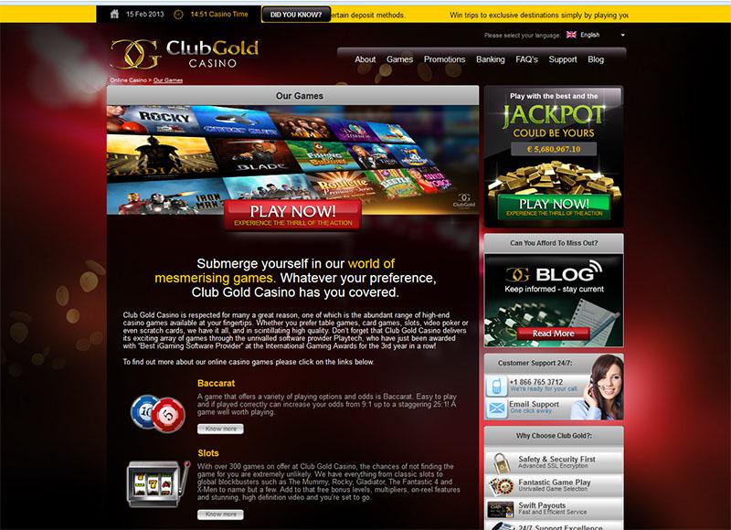 Gold Club Casino Game Free Download
