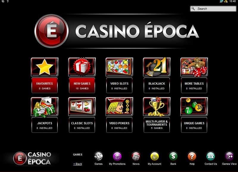 Casino Epoca Promotions