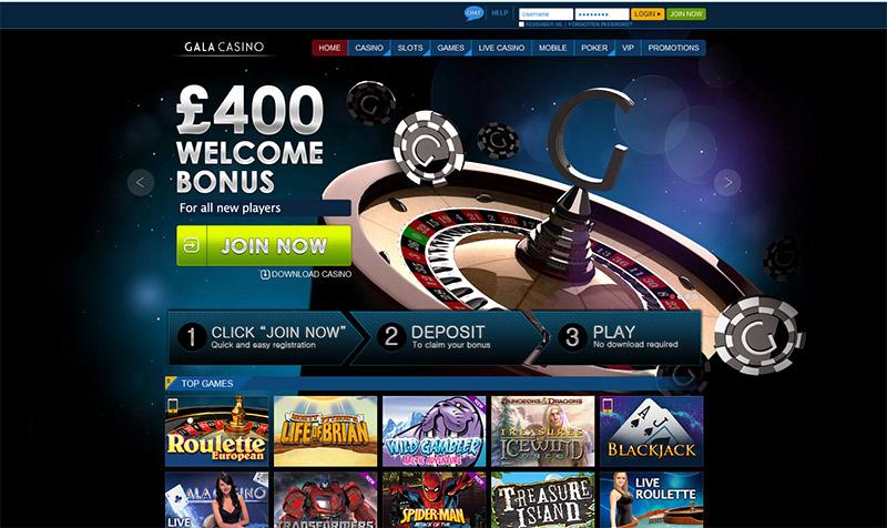 Gala Casino Promotions