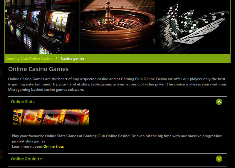 Gaming Club 30 Free Spins