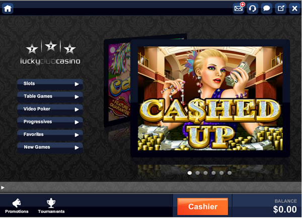 lucky club casino sign up