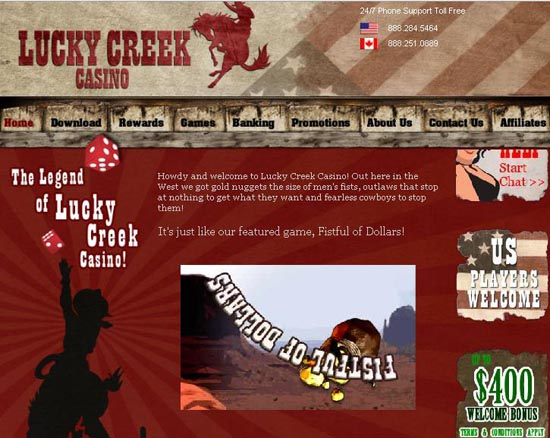 Lucky Creek Casino Promotions