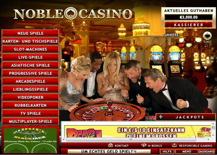 Noble Casino Promotions