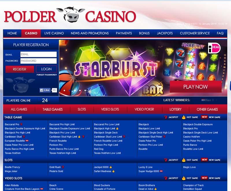 Polder Casino Promotions