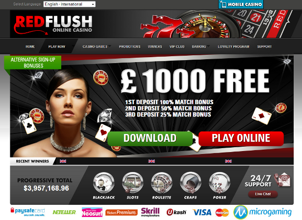 Red Flush Casino Promotions