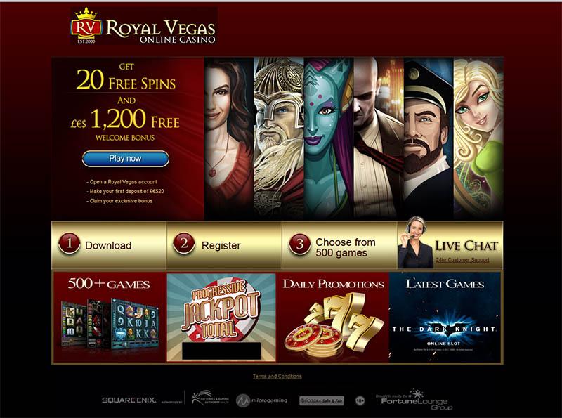 Royal Vegas Casino Promotions
