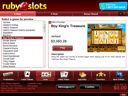 Ruby Slots Promotions
