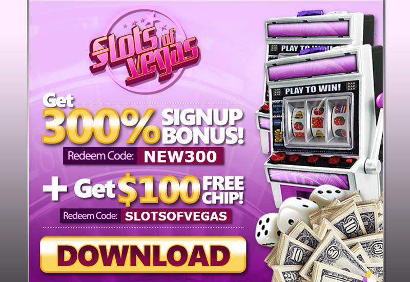 Slots Of Vegas Sign Up