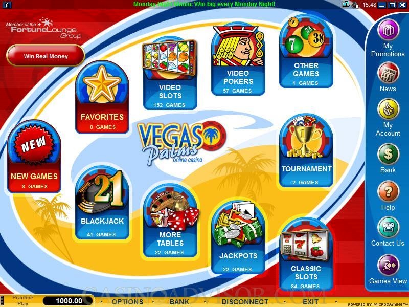 Vegas Palms Casino Promotions