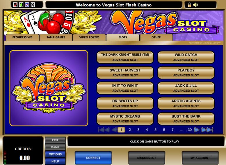 Vegas Slot Casino Promotions
