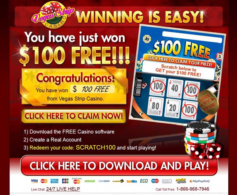 Vegas Strip Casino Promotions
