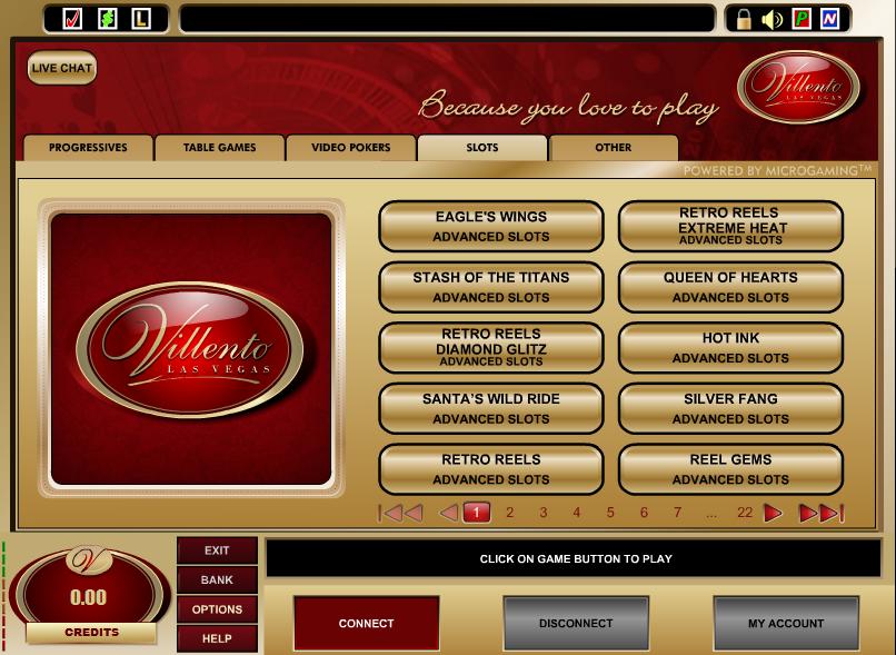 Villento Casino Promotions