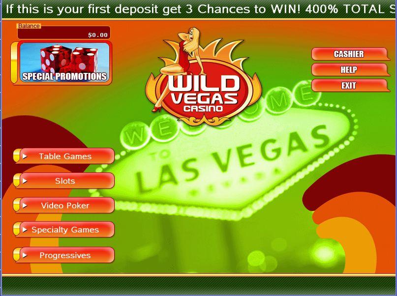 Wild Vegas Casino Promotions
